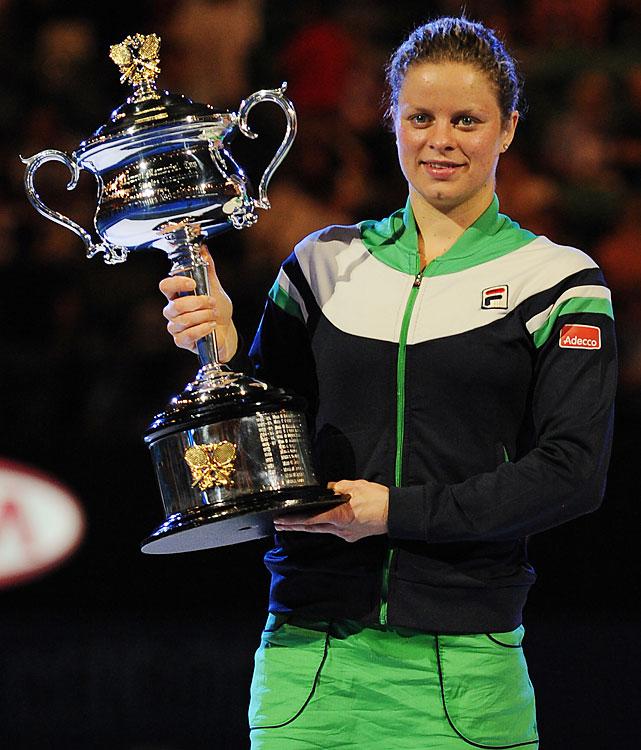 def. Li Na, 3-6, 6-3, 6-3 Grand Slam, Hard (Outdoor), $9,264,098 Melbourne, Australia