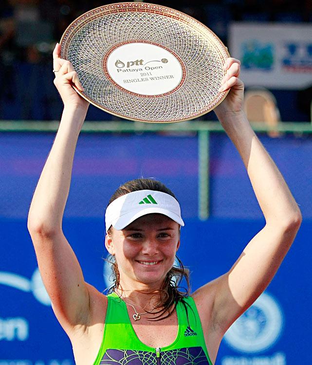 def. Sara Errani, 6-0, 6-2 WTA International, Hard (Outdoor), $220,000 Pattaya, Thailand