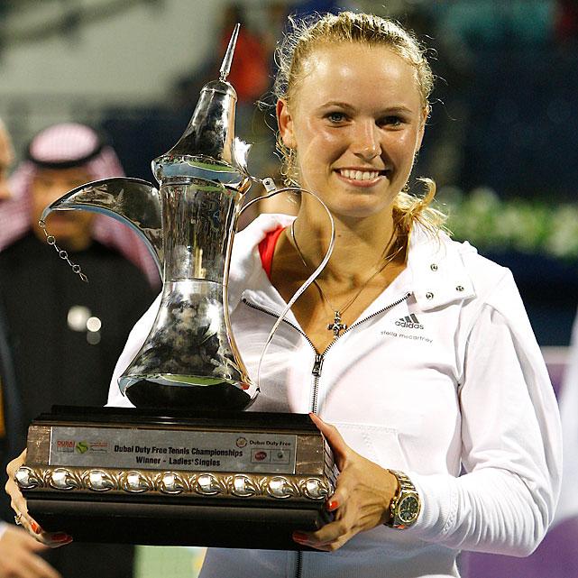 def. Svetlana Kuznetsova, 6-1, 6-3 WTA Premier, Hard (Outdoor), $2,205,000 Dubai, United Arab Emirates