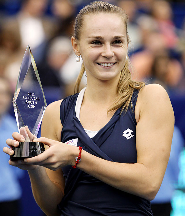 def. Rebecca Marino, 6-2, ret. WTA International, Hard (Indoor), $220,000 Memphis, Tenn.