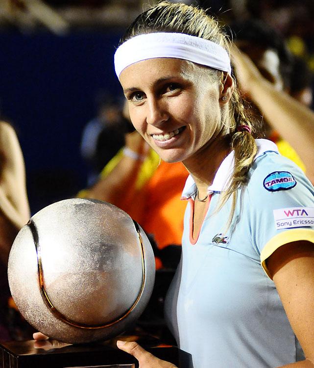 def. Arantxa Parra Santonja, 6-3, 7-6 (5) WTA International, Clay, $220,000 Acapulco, Mexico