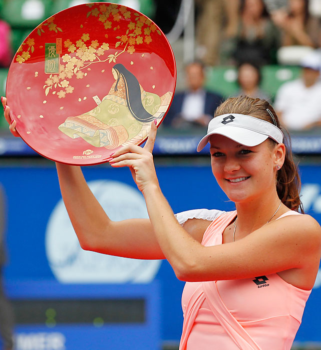 def. Vera Zvonareva 6-3, 6-2 WTA Premier, Hard (Outdoor), $2,000,050 Tokyo