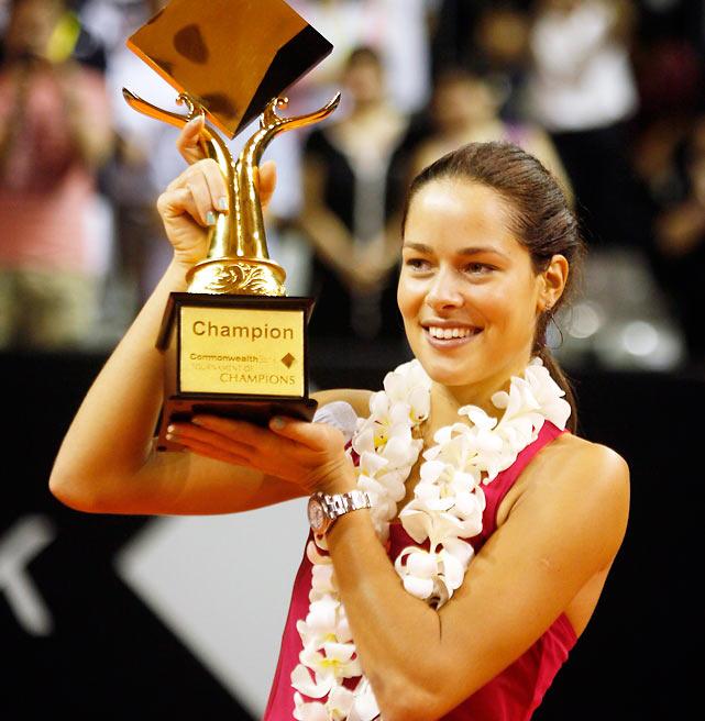 def. Anabel Medina-Garrigues 6-3, 6-0 WTA International, Hard (Outdoors), $600,000 Bali, Indonesia