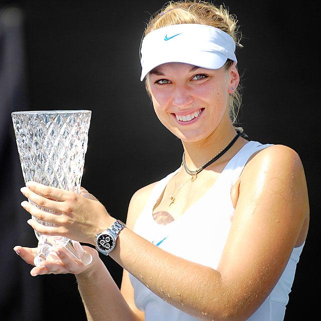 def. Aravane Rezai 6-2, 6-1 WTA International, Hard (Outdoor), $220,000 Grapevine, Texas