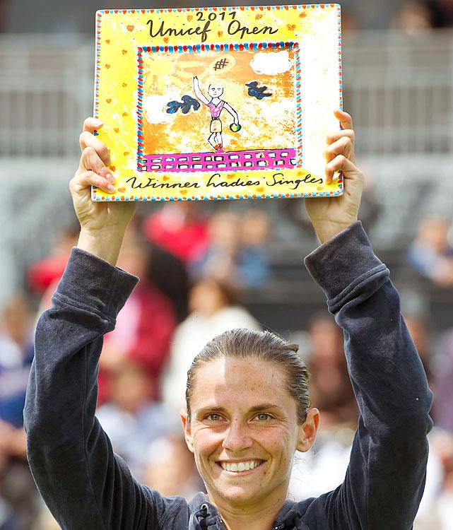 def. Jelena Dokic, 6-7 (7), 6-3, 7-5 WTA International, Grass, $220,000 Den Bosch, Netherlands
