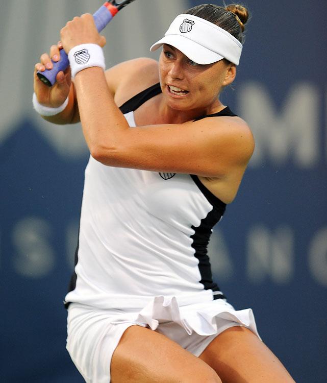 def. Ksenia Pervak, 6-1, 6-4 WTA International, Hard (Outdoor), $220,000 Baku, Azerbaijan