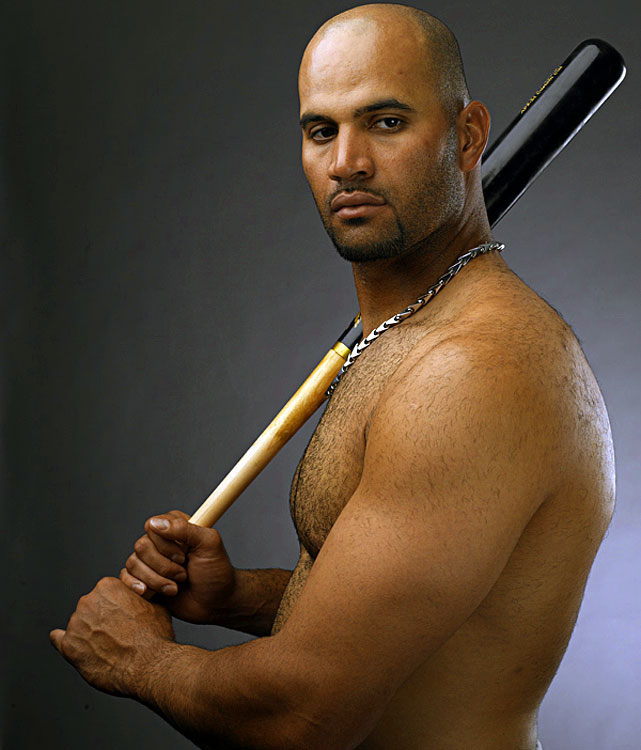 Pujols is a lifetime .331 hitter and has already won three MVP awards. He has also won two Gold Gloves for his work at first base.
