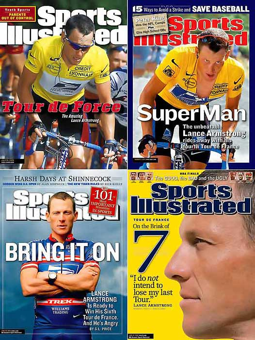 A survivor in every sense of the word, Lance Armstrong announced on Feb. 16, 2011, that he would retire from professional cycling.  This was Armstrong's second retirement, the first coming in 2005.  Armstrong is considered one of the greatest cyclist of all time, winning the Tour de France a record seven consecutive times.  Off the bike, Armstrong has campaigned feverishly to raise funds and awareness for cancer research.  To date, Armstrong, who overcame a bout of testicular cancer in 1996, has raised nearly $400 million for the cause.  In a sport saturated with doping, Armstrong, the self-proclaimed most-tested athlete on the planet, has never tested positive for performance enhancing drugs.