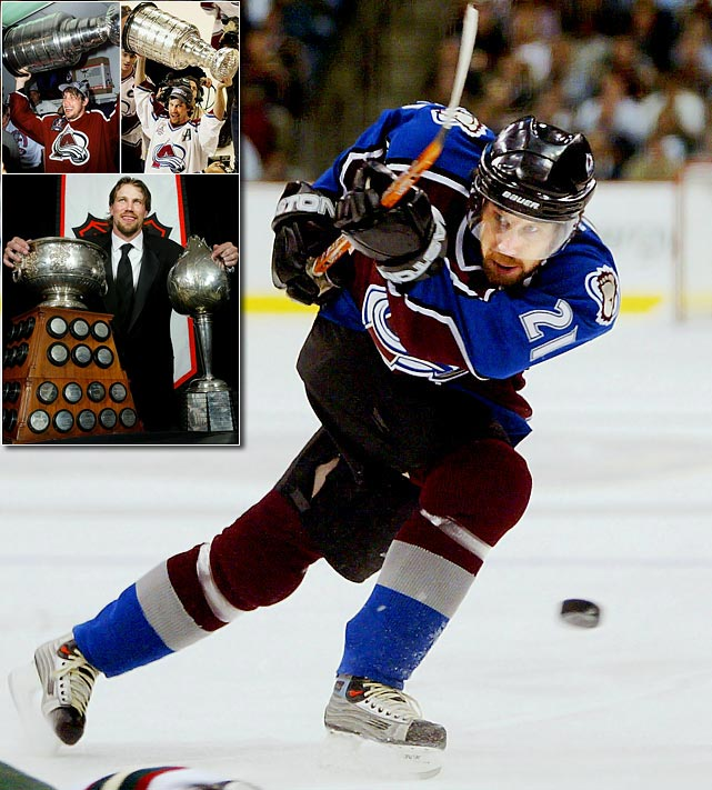 One of hockey's great all-around centers, Peter Forsberg, 37, announced his retirement on Feb. 14, 2011 after a chronic problem with his right foot ended his attempt at a comeback with the Colorado Avalanche.  Forsberg, who played all or parts of 13 seasons in the NHL, had spent the previous two years in Sweden, playing sporadically for Modo of the Elite League.  Forsberg scored a career-high 116 points in his first full season (1995-96) and became a cornerstone, along with Joe Sakic and goaltender Patrick Roy, of an Avalanche team that won the Stanley Cup in 1996 and 2001.  After missing the entire 2001-02 regular season, Forsberg returned in time for the playoffs and led the NHL in postseason scoring (27 points in 20 games).  In 2002-03, a healthy Forsberg came back to win the Art Ross Trophy as the NHL's leading scorer (106 points), and the Hart Trophy as MVP.