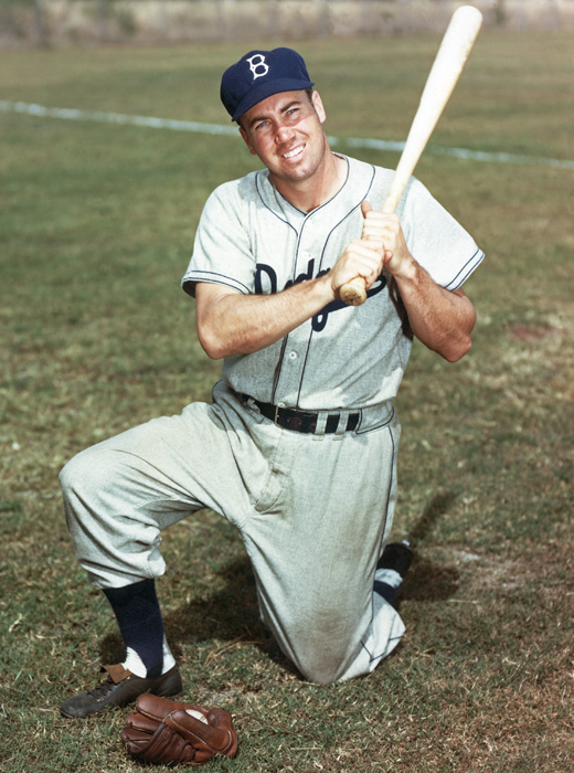 "Dodgers legend Edwin ""Duke"" Snider died on Sunday at the age of 85. ""The Silver Fox"" was named to eight all-star teams and won two World Series titles but is best remembered as a key cog in the Brooklyn Dodger teams of the 1950s. Here are some other classic photos of the center fielder."