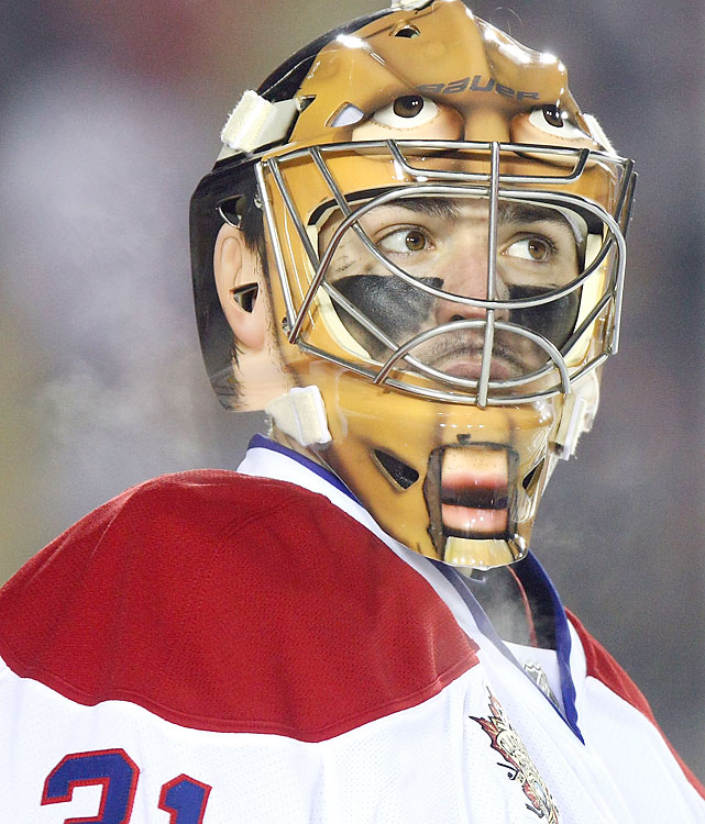 Canadiens goalie Carey Price let in four goals on 37 shots.