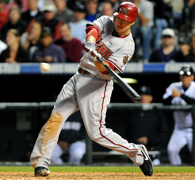Career highs by category:   .287 AVG, 26 HR, 71 RBI, 93 R, 13 SB  Projected numbers:   .285 AVG, 25 HR, 75 RBI, 100 R, 10 SB   Johnson finally got a full-time job last season with the D'backs and the power showed up. Most of his career highs were set last season, so projecting a season better than last would be tough. If you want to consider a high side, though, we could see .295-30-80-110-15. Johnson could prove to be a steal after the top five fantasy second basemen are off the board. Because he has done it essentially only once in his career, he might even go after the first 10 at his position, too.