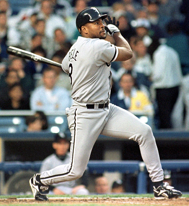 Nov. 19, 1996: The White Sox sign Albert Belle to a five-year, $55 million contract. Belle's average annual salary of $11 million is $2.5 million than the next highest-paid player (Ken Griffey Jr., $8,500,000).