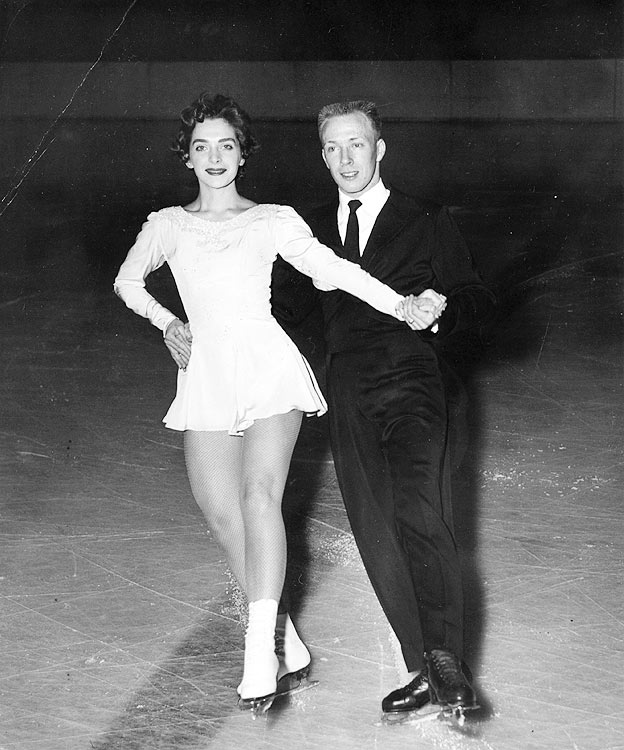 Robert Dineen and wife Patricia won an ice dancing bronze in the senior division at the 1961 U.S. figure skating championships, earning them the right to compete in Prague.