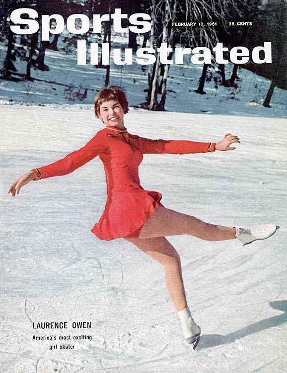 "On Jan. 29, 1961, Laurence Owen took home the U.S. ladies' figure skating title and instantly became a household name.  Sports Illustrated  hailed her as ""America's most exciting girl skater,"" and she was considered the favorite for the 1961 world figure skating championships in Prague, where the U.S. team was headed when Sabena Flight 548 crashed."