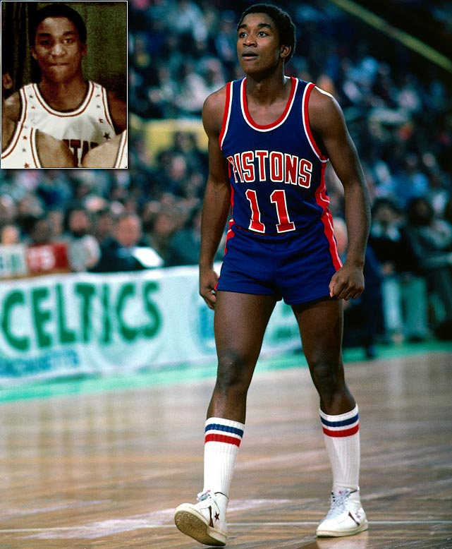 Don't let his career as a coach and executive overshadow his playing days. Selected second overall by the Pistons -- with whom he spent his entire 13-year career -- the Hall of Famer and two-time NBA champion was named to his first All-Star Game in 1982, and went on to earn Rookie of the Year and a spot on the NBA All-Rookie Team.  He had 12 points and four assists in the East's 120-118 win in his first All-Star Game.
