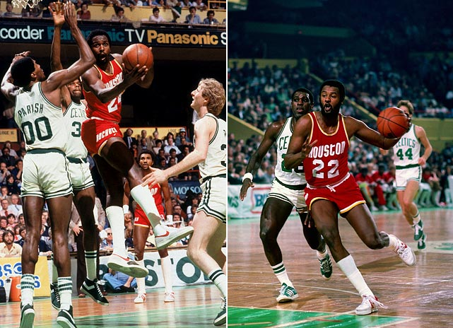Moses Malone's MVP season of '81-82 with the Rockets prompted the Sixers to offer the free agent a six-year, $13.2 million contract -- a massive deal at the time. Houston matched the offer but quickly traded Malone to Philadelphia anyway, for Caldwell Jones and a No. 1 pick. The Rockets took their lumps but rebuilt through the draft, getting Ralph Sampson and Akeem (now Hakeem) Olajuwon in back-to-back years. That paved the way for a Finals appearance in '86 (and two Olajuwon-led titles in the mid-`90s).