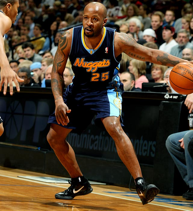 The journeyman point guard appeared in only 14 games with the Nuggets this season while playing behind Billups and Ty Lawson. But as recently as 2008-09, Carter was averaging 22.9 minutes a game for a Denver team that advanced to the Western Conference finals.
