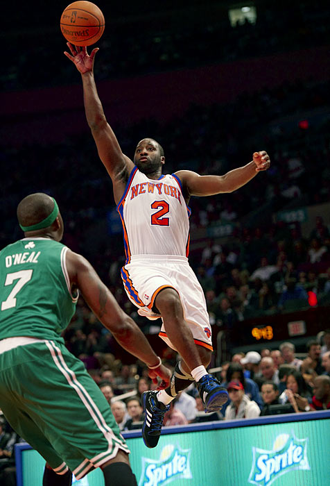 Felton generated All-Star buzz early in the season thanks to his three-point shooting and pick-and-roll prowess with Amar'e Stoudemire. But Felton, like Chandler, cooled off as the Knicks swooned in January and early February. What Denver does with Felton will be interesting because the Nuggets have been grooming another former North Carolina floor leader, 2009 first-round pick Ty Lawson, as their point guard of the future.