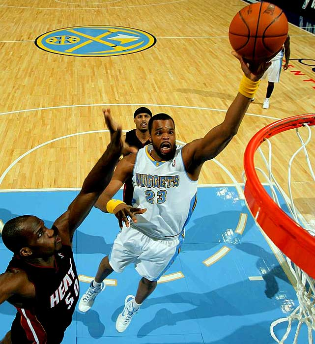 Williams started the first two months of the season for Denver, but his playing time declined sharply as the Nuggets got healthier in the frontcourt. Nevertheless, Williams was Denver's top per-minute rebounder, and he could earn minutes with a Knicks team that is lacking beef inside. Williams is joining his sixth team since being selected with the fifth pick in the 2006 draft.