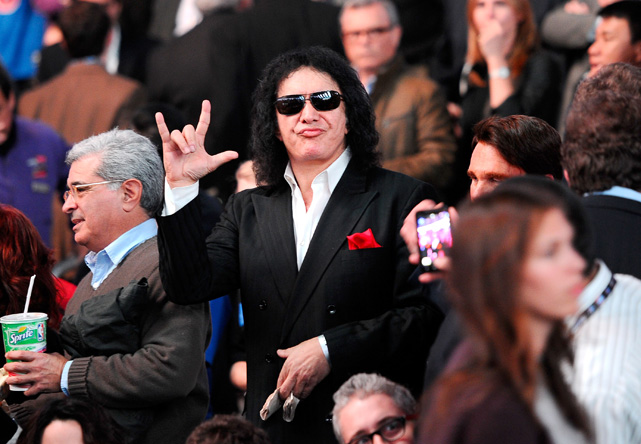 And here's Gene Simmons being Gene Simmons.