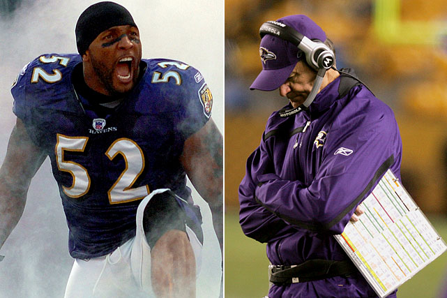 Ray Lewis and Co. had high expectations for '07 after bringing back the core of a 13-3 team that had the league's stingiest defense. But, after a 4-2 start, injuries, a league-worst turnover differential and slippage on defense led to a last-place finish and the firing of coach Brian Billick.