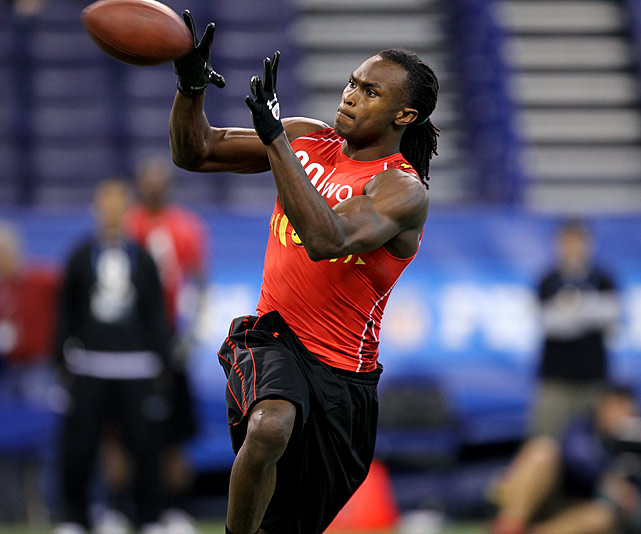 Jones was a dominant presence from Day 1 at Alabama. Despite his enormous talent he does not consistently play like a number one receiver, which concerns NFL scouts.
