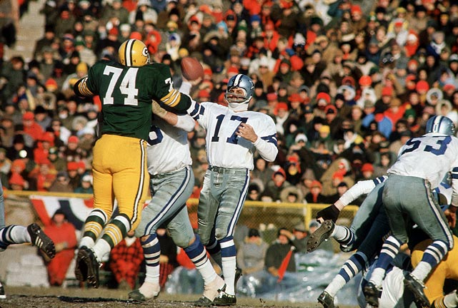 "Dallas Cowboys vs. Green Bay Packers ""Ice Bowl""  Green Bay, WI December 31, 1967"