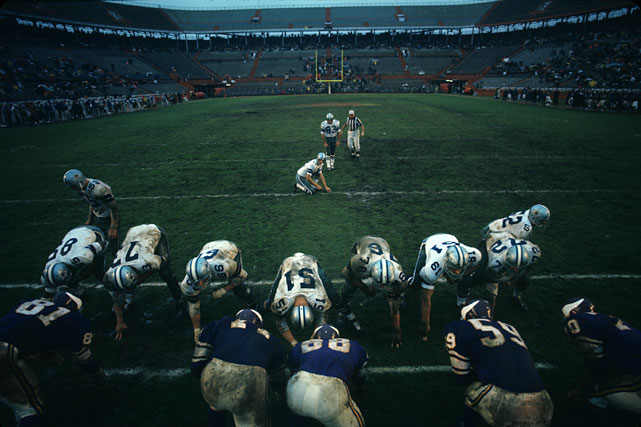 Minnesota Vikings vs. Dallas Cowboys Playoff BowlMiami, Fla. January 5, 1969