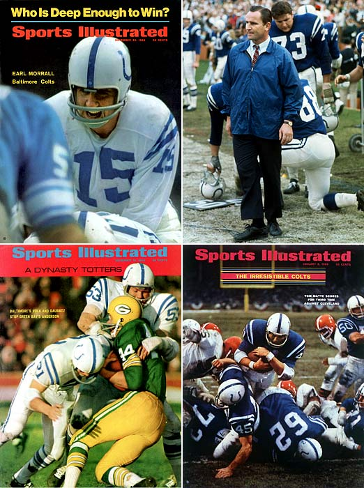 We could break down the Colts' Super Bowl III loss to the Jets in myriad ways.  But it's more fun to wonder how NFL history would have been written if Baltimore  had not been party to the most storied upset of all time. Something like  ... 1) The AFL never earns the pre-merger respect of the NFL; 2) Coach Don Shula never leaves Baltimore for the still-in-expansion-mode  Dolphins in 1970; 3) Joe Namath never gets the chance to visit Bobby Brady, on his phony  death bed, in a campy but memorable episode of TV's  The Brady  Bunch ; 4) And Namath never signs a landmark deal to endorse pantyhose  for Beauty Mist in the mid-70s.