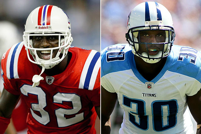 While both McCourty brothers roamed the secondary at Rutgers from 2005 to 2009, Devin enjoyed the quicker start in the NFL. He picked off seven passes as a rookie with the Patriots, finished second in Rookie of the Year voting, and was named an AP Second-Team All-Pro. Jason was an unheralded sixth round pick by the Tennessee Titans and got his first career interception in Week 3 of the 2010 season.