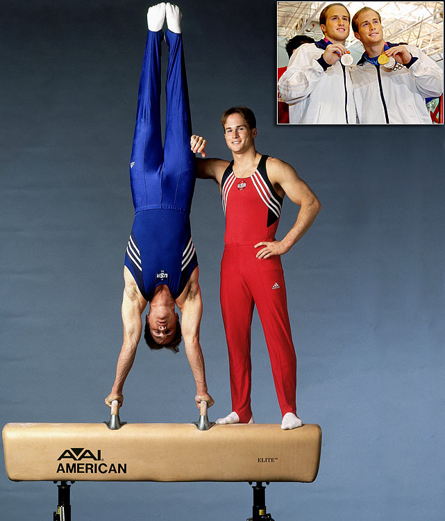 It is unknown whether Paul and Morgan Hamm are identical or fraternal twins. However, both played an integral role in the silver medal-winning U.S. team at the 2004 Olympics. Paul went on to win a gold in all-around at the same Games.