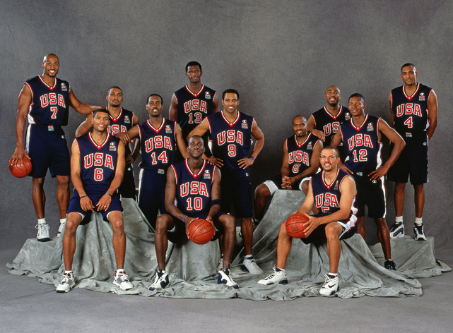 Allen was a part of Team USA at the 2000 Summer Olympics in Australia, which went undefeated on its way to a gold medal.