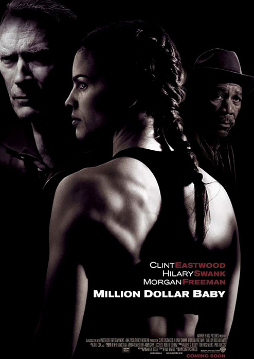 <bold><underline>Wins</underline></bold>: Best Picture Best Actress in a Leading Role (Hilary Swank) Best Actor in a Supporting Role (Morgan Freeman) Best Director (Clint Eastwood) <bold><underline>Nominations</underline></bold>: Best Actor in a Leading Role (Clint Eastwood) Best Writing, Adapted Screenplay Best Film Editing