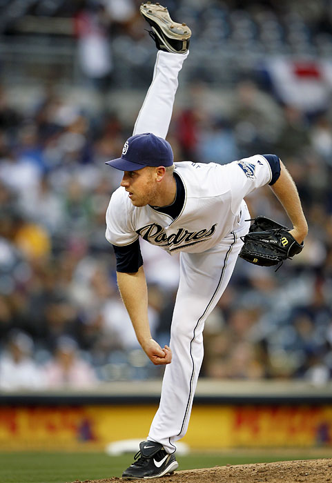 A once prized pitching prospect in the White Sox organization, 6-8 Adam Russell was shipped to San Diego in 2009 with three other players for Jake Peavy. He was traded again this offseason to Tampa Bay Rays and the 27-year-old will try to earn a roster spot this spring.