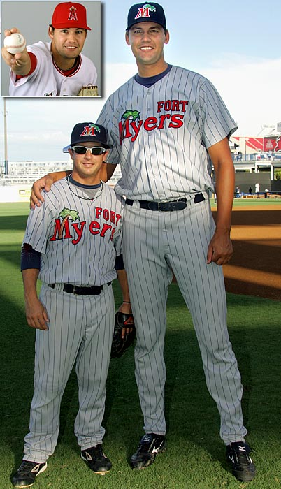 Loek Van Mil is currently the tallest player in the minors and majors. His 7-1 stature is equal to that of Shaquille O'Neal. The 26-year-old is on the 40-man roster for the Los Angeles Angels but is projected to begin the season in the minors. Despite his large frame and mid-90's fastball, Van Mil posted a 6.37 ERA in Double A ball last season.