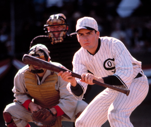 Sheen played Happy Felsch in the 1988 movie  Eight Men Out  about baseball's famous 1919 Black Sox scandal.
