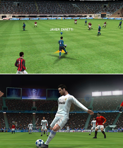 Soccer fanatics will be pleased with the latest version of this franchise. All the big club teams and star players are represented, as is the UEFA Champions League mode. More important, the game play is smooth and proves once again to be a perfect fit for the DS platform. PES features traditional multiplayer and StreetPass, in which you create your own team and it plays games automatically against other StreetPass uers. Finally, the graphics are gorgeous, especially on the instant replays.  Score: 8.5 out of 10