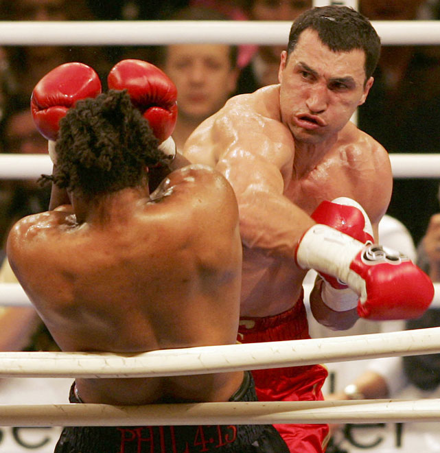 Vitali's younger brother won the IBF heavyweight title with a seventh-round TKO of Chris Byrd on Apr. 22, 2006.