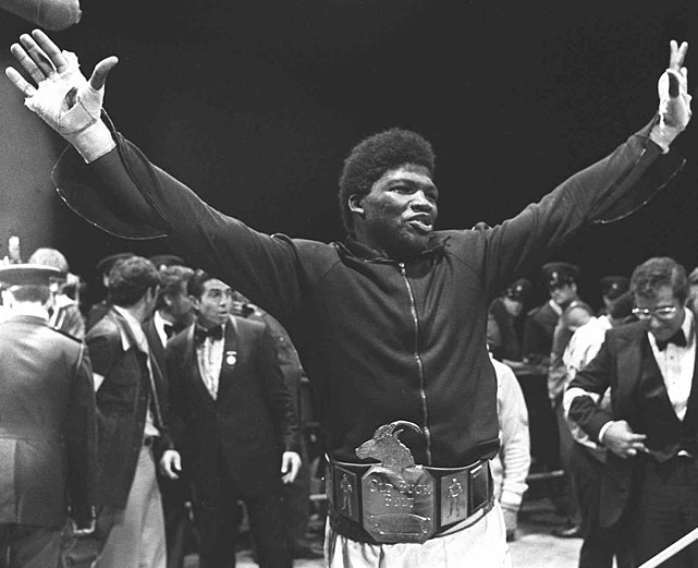 Tate, a bronze medalist for the United States at the 1976 Olympics in Montreal, won the vacant WBA heavyweight title on Oct. 20, 1979, going on the road to beat Gerrie Coetzee in Pretoria, South Africa.