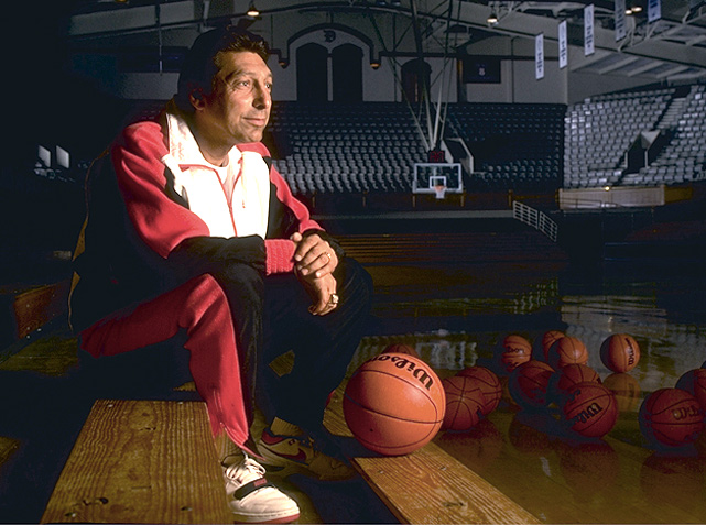 "Valvano's legacy still lives on through The V Foundation, a charitable organization dedicated to finding a cure for cancer. The group's motto is ""Don't give up. Don't ever give up,"" a message Valvano delivered  during his  famous speech at the 1993 ESPY Awards."