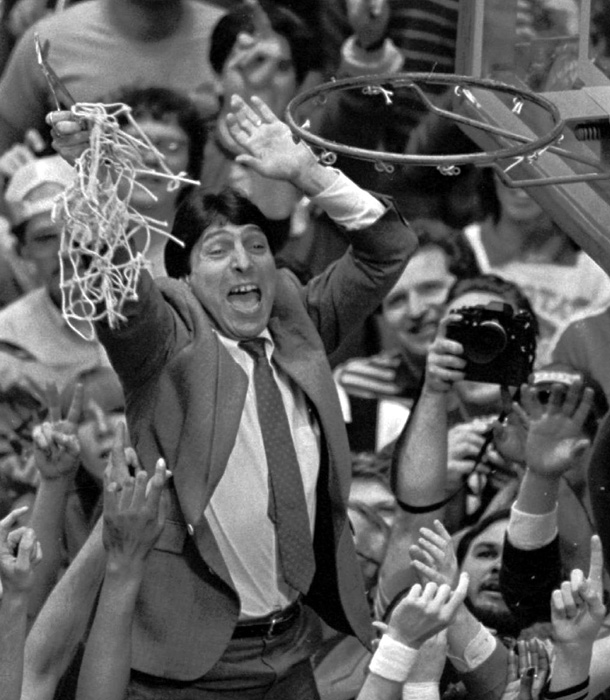 The Wolfpack barely qualified for the 1983 NCAA tournament. The team finished the regular season in a tie for third place in the ACC with an 8-6 record (17-10 overall). They did not lose again, winning a bid to the NCAA tournament by capturing the conference tournament, and upsetting higher-ranked teams to reach the final against Houston.