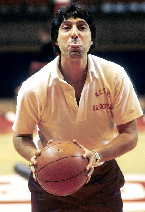 Valvano got his coaching start at Rutgers, where he spent a year as an assistant before becoming head coach at Johns Hopkins in 1970 at the age of 22. In his one season with the Blue Jays, he led the team to a 10-9 record, its first winning season in 24 years.