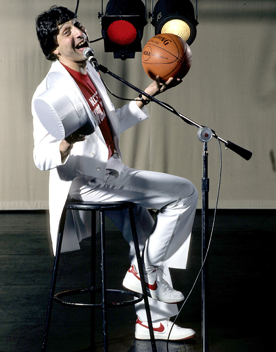 "Valvano was known for his large presence, both on and off the court. ""I want to do other things, learn about other professions,"" he said when asked of his outside pursuits. ""I refuse to limit myself to whatever boundaries you may think surround a coach's position. Very simply, I enjoy diversity."""