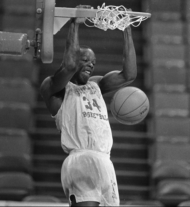 Bias was one of the nation's most gifted athletes and his high-flying dunks made him a highlight reel.