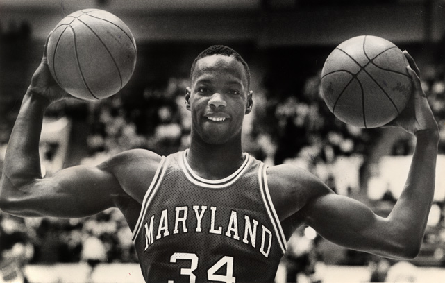 Though he was known as a scorer (he averaged 23 points per game his senior season), Bias also boasted one of the most impressive physiques in college basketball and averaged six rebounds per game over his four seasons at Maryland.