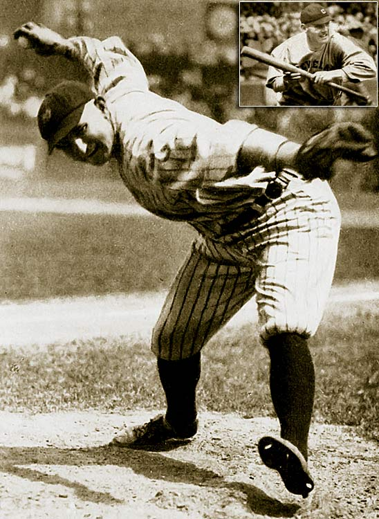 During the Dead Ball era, it was common practice for pitchers to manipulate the ball, smearing it with grease or dirt or even scuffing the surface to gain an advantage. In August of 1920, the Indians' Ray Chapman (inset) was killed by a pitched ball from the Yankees' Carl Mays that Chapman could not see because of its discoloration. In 1921, baseball instituted a rule to remove dirty or doctored balls from play.  Offense increased dramatically and the game was changed forever.