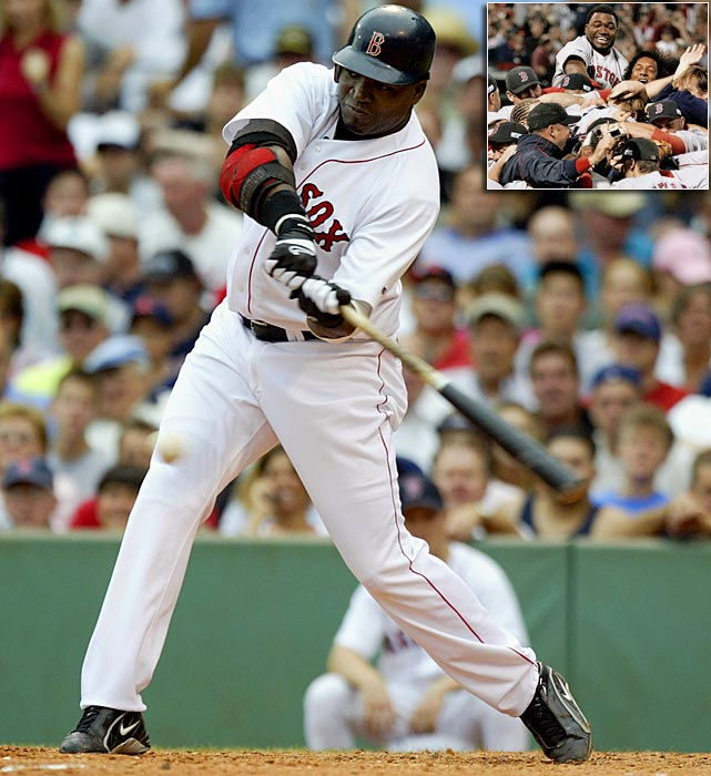 Before the start of the 2003 season the Red Sox signed a little-known hitter by the name of David Ortiz to a one-year, $1.25 million contract.  The move, while unheralded at the time, would turn out to be the greatest free-agent signing of all time.  Ortiz emerged as a force in the middle of Boston's lineup, has made six All-Star teams, helped the Red Sox win two World Series and is considered one of the must clutch hitters in Red Sox history.