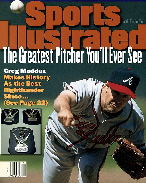 After contentious negotiations broke off in 1992, the Cubs made arguably the biggest mistake in franchise history: letting NL Cy Young winner Greg Maddux walk.  One team's misfortune is another team's gain though, and the Braves were quick to sign Maddux to a five-year, $28 million deal. The move was a great decision. Maddux was just entering his prime and would win the Cy Young again in 1993, 1994 and 1995.
