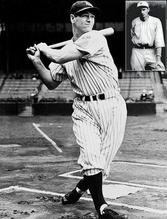On June 2, 1925, Wally Pipp (inset), by his account, arrived at Yankee Stadium with a headache. Manager Miller Huggins took note of Pipp's ailment and suggested the veteran take the day off. The rest is history.  Gehrig subbed for Pipp and never came out of the lineup, playing in 2,130 straight major league games, a streak that didn't end until 1939. Pipp logged only 17 more at-bats for the Yankees in '25 and was traded to the Cincinnati Reds in 1926.